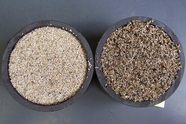 حفاظت از منابع آبی با شن های دارای دانه های روغنی