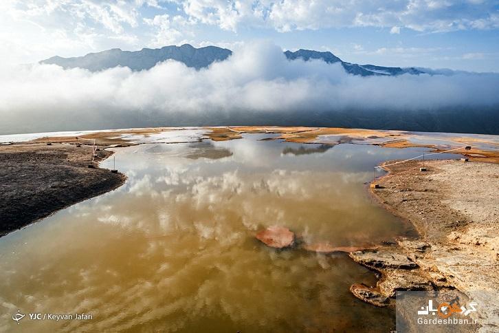 چشمه کم نظیر جهانی که در ایران قرار گرفته است
