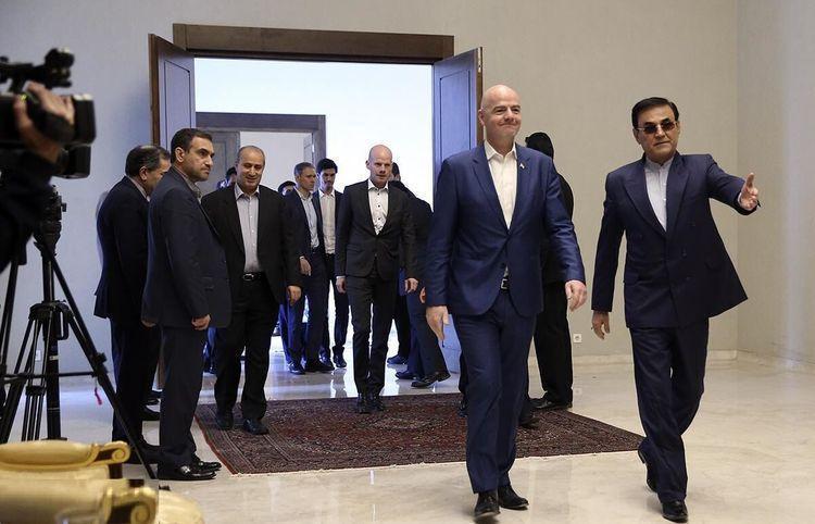 مهدی تاج به قطر سفر کرد
