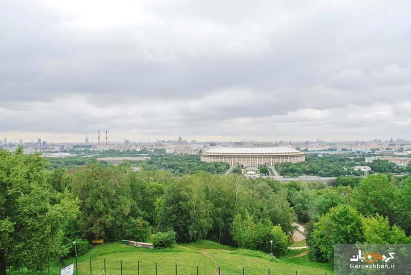 تپه گنجشک ها یا بام مسکو؛ از اصلی ترین دیدنی های شهر، عکس