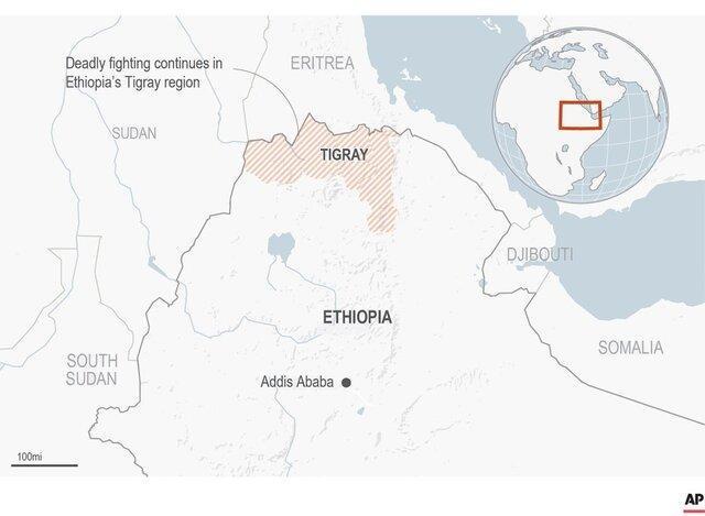 وقوع چندین انفجار در پایتخت اریتره