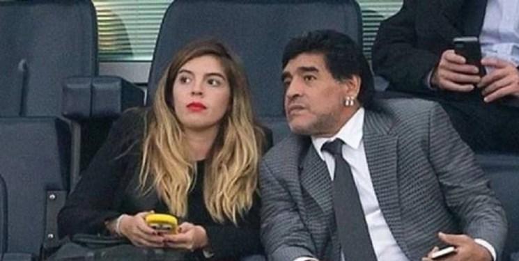مارادونا همسر سابق و دخترانش را از ارث محروم کرد!