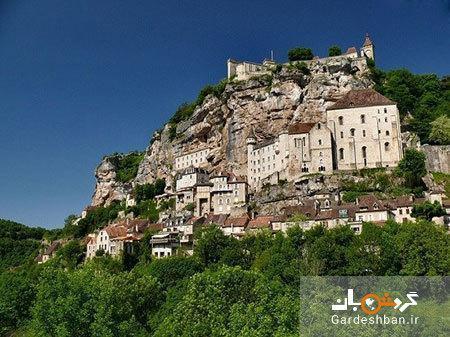 روکامادور؛ روستایی تاریخی و صخره ای در فرانسه