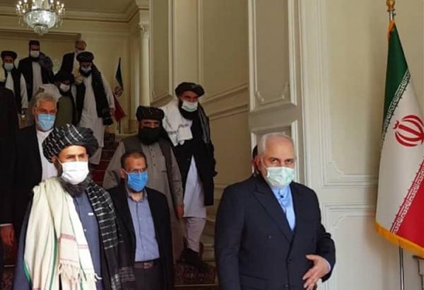 وزارت خارجه یک خبر درباره ملاقات ظریف با طالبان را تکذیب کرد