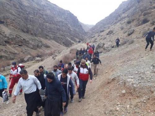 دو کشته و زخمی در سقوط از ارتفاع کپرگه کوه شهرستان بروجرد