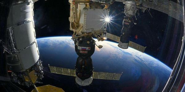 خبرنگاران ایستگاه فضایی بین المللی ترک برداشت