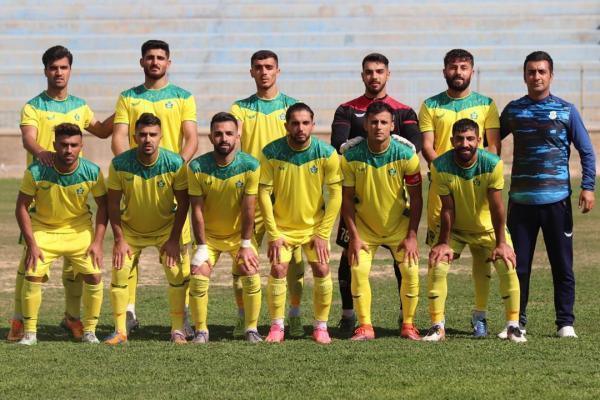 خبرنگاران نفت وگاز گچساران در لیگ دسته دوم فوتبال حفاری اهواز را شکست داد