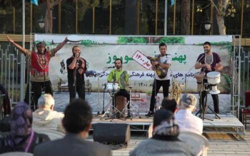 آوای موج موسیقی بوشهری را در پهنه رودکی طنین انداز کرد