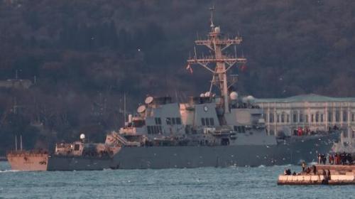 آمریکا درحال آنالیز اعزام ناو به دریای سیاه