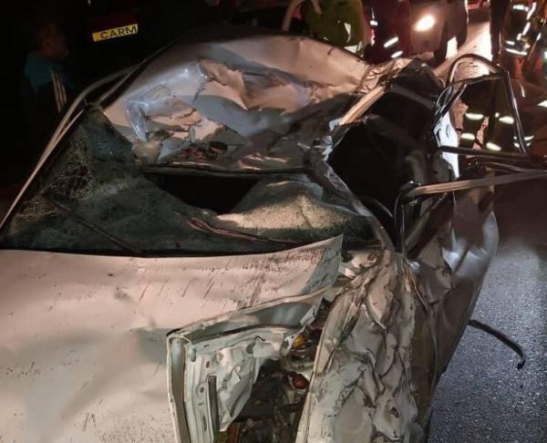 خبرنگاران تصادف در جاده کرج - چالوس یک کشته و یک مصدوم برجای گذاشت