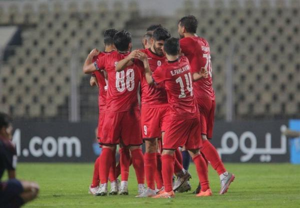 لیگ قهرمانان آسیا، پرسپولیس با گل سید جلال پیروز به رختکن رفت