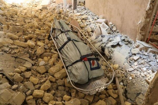 مرگ کارگر جوان حین تخریب ساختمان دو طبقه در مشهد