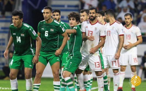 ساعت بازی فوتبال ایران ، عراق