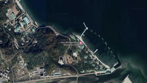 تصاویر ماهواره ای از خوشگذرانی رهبر کره شمالی