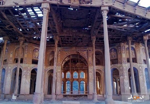 خاتمه عملیات بازسازی کاخ سرهنگ آباد اردستان