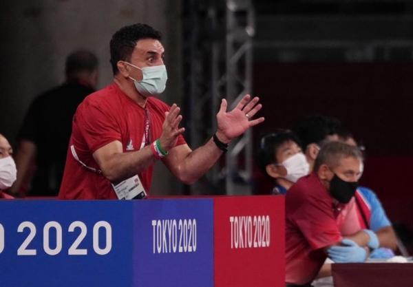 غیبت سرمربی تیم ملی کشتی فرنگی در مراسم افتتاحیه کمپ تمرینی