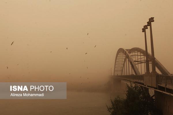 پیش بینی گرد و خاک برای خوزستان